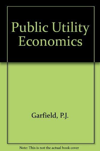 9780137393671: Public Utility Economics