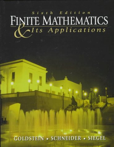9780137418770: Finite Mathematics and Its Applications