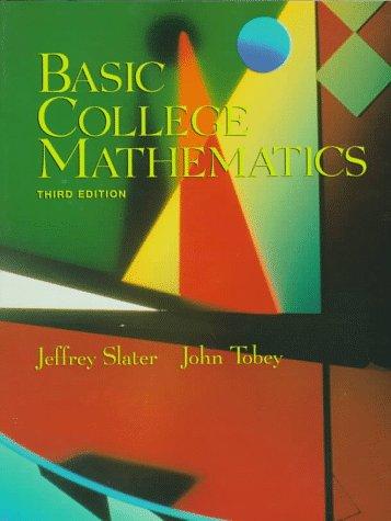 9780137436347: Basic College Mathematics (3rd Edition)