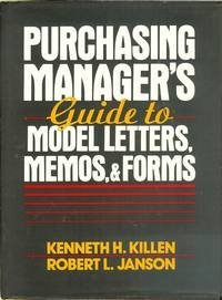 9780137449132: Purchasing Manager's Guide to Model Letters, Memos, and Forms