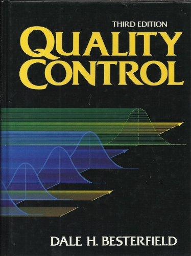 9780137451005: Quality Control