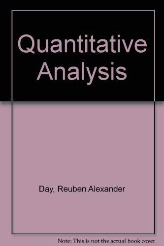 9780137465378: Quantitative Analysis