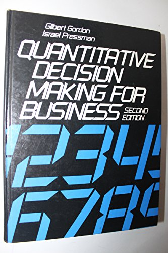 9780137466856: Quantitative Decision Making for Business