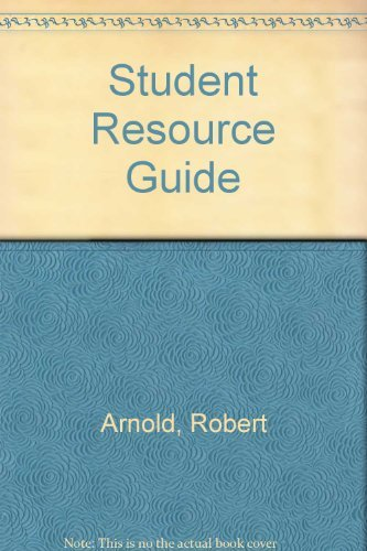 Excursions in Modern Mathematics: Student Solutions Manual: Robert, Arnold, Tannenbaum, Peter