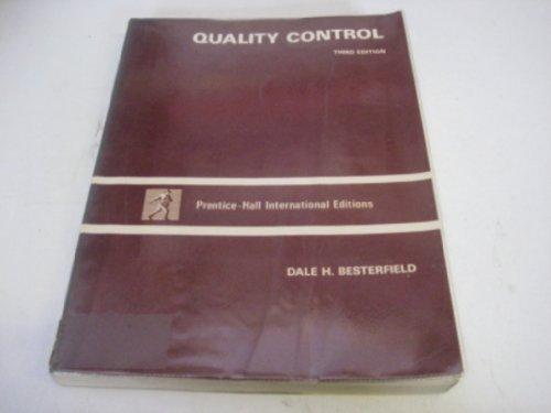 9780137470648: Quality Control