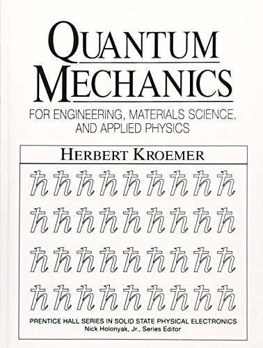 9780137470983: Quantum Mechanic For Engineering: Materials Science and Applied Physics (Prentice Hall Series in Solid State Physical Electronics)