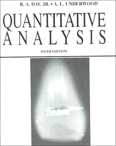9780137471553: Quantitative Analysis (6th Edition)