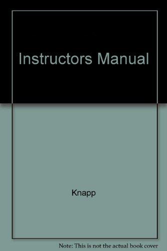9780137478170: Instructors Manual