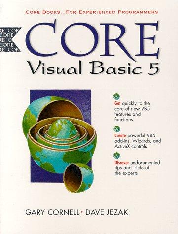9780137483280: Core Visual Basic 5 (Core Series)