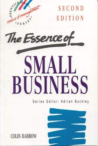 9780137486410: The Essence of Small Business (Essence of Management)