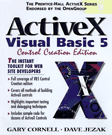 9780137491858: ActiveX and the Visual Basic 5 Control Creation Edition (Prentice-Hall ActiveX)