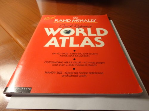 9780137495320: Quick Reference World Atlas