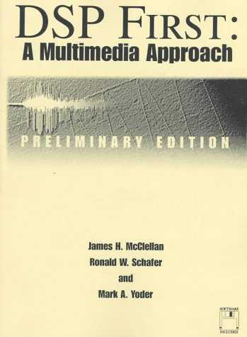 9780137496310: Dsp First Multimedia Approach: A Multimedia Approach