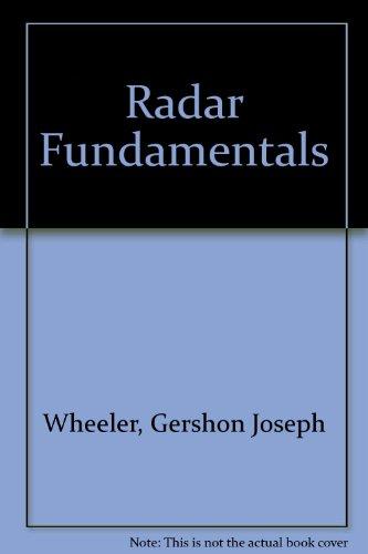 9780137499946: Radar Fundamentals