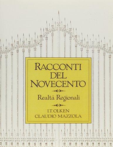9780137500017: Racconti Del Novecento: Realta regionali