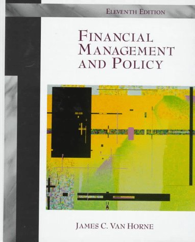 9780137512232: Financial Management and Policy (11th Edition)