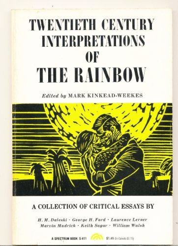 "9780137526833: D.H.Lawrence's ""The Rainbow"" (20th Century Interpretations)"
