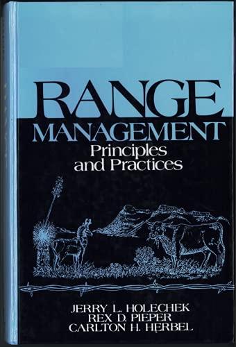 9780137527915: Range Management: Principles and Practices