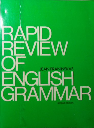9780137531455: Rapid Review of English Grammar: A Text for Students of English As a Second Language