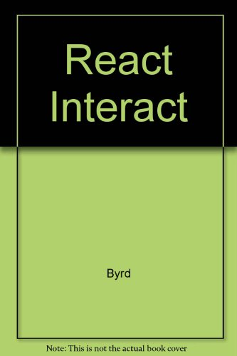 9780137533770: React Interact: Situations for Communication