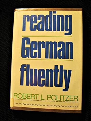 9780137535415: Reading German Fluently