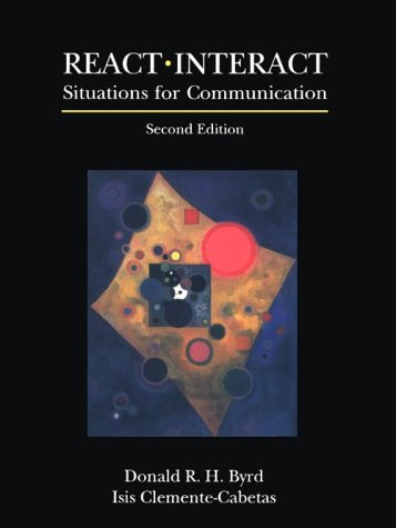 9780137537167: React/Interact: Situations for Communication
