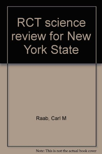 RCT science review for New York State: Raab, Carl M