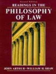9780137538492: Readings in the Philosophy of Law