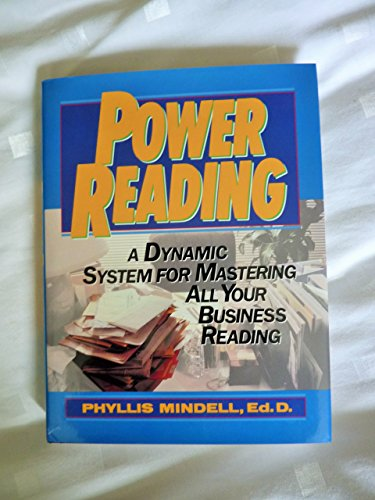 9780137538645: Power Reading: A Dynamic System for Mastering All Your Business Reading