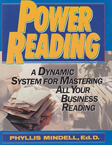 9780137538720: Power Reading: A Dynamic System for Mastering All Your Business Reading