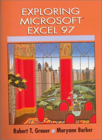 9780137542192: Exploring Microsoft Excel 97 (Exploring Microsoft Office 97 Series)