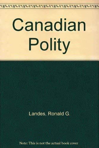 9780137547630: Canadian Polity