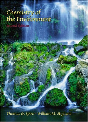 9780137548965: Chemistry of the Environment (2nd Edition)