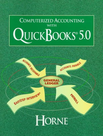 9780137553075: Computerized Accounting with Quickbooks 5.0