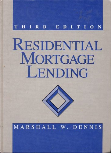 9780137554065: Residential Mortgage Lending