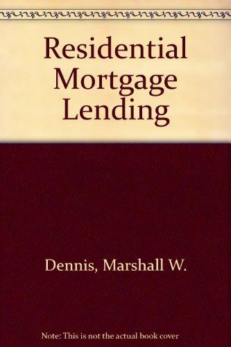 9780137554065: Residential Mortgage Lending