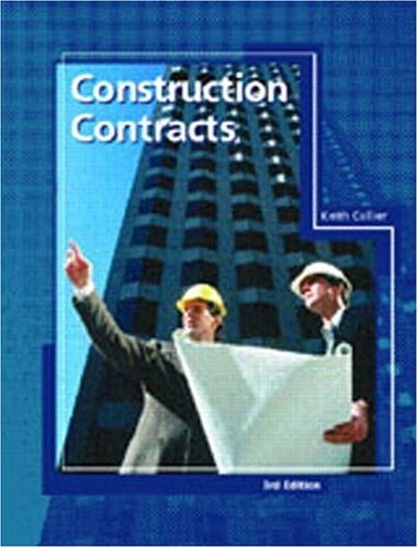 9780137559275: Construction Contracts (Pearson Construction Technology)