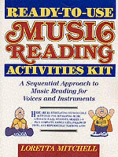 9780137561643: Ready-to-Use Music Reading Activities Kit: A Complete Sequential Program for Use with Mallet and Key Board Instruments