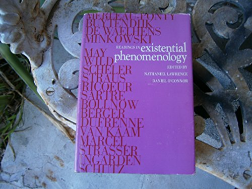 Readings in Existential Phenomenology: Lawrence, Nathaniel and