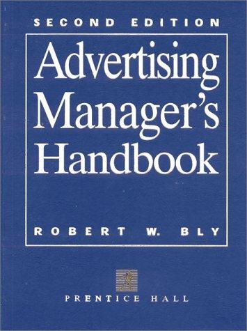 9780137571888: Advertising Manager's Handbook