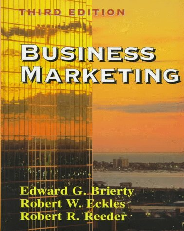 9780137573783: Business Marketing