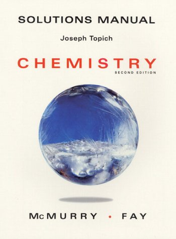 9780137574100: Chemistry: Solutions Manual