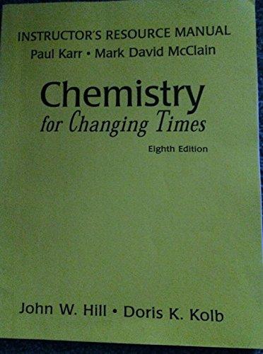 9780137580538: Instructors Resource Manual