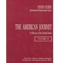 9780137589210: The American Journey: A History of the United States