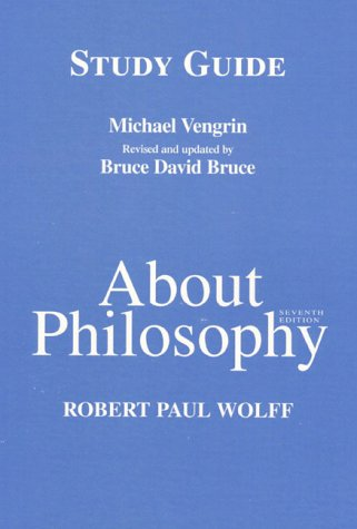 About Philosophy 9780137597543 Book by Vengrin, Michael, Bruce, Bruce David