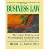 9780137605392: Business Law (Study Guide With Critical Legal Thinking Cases)