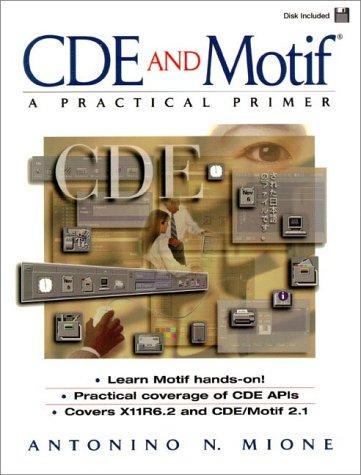9780137608287: CDE and Motif: A Practical Primer
