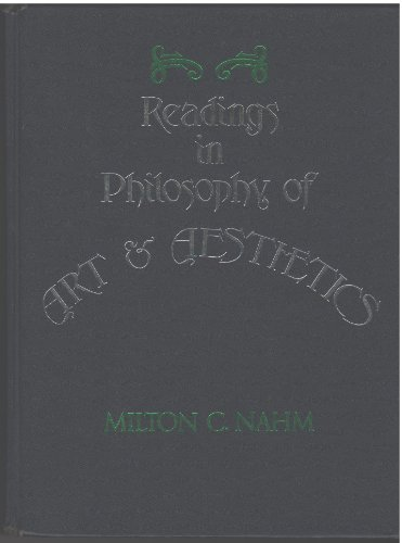 9780137608928: Readings in the Philosophy of Art and Aesthetics