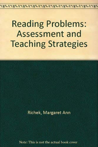 9780137611072: Reading Problems: Assessment and Teaching Strategies