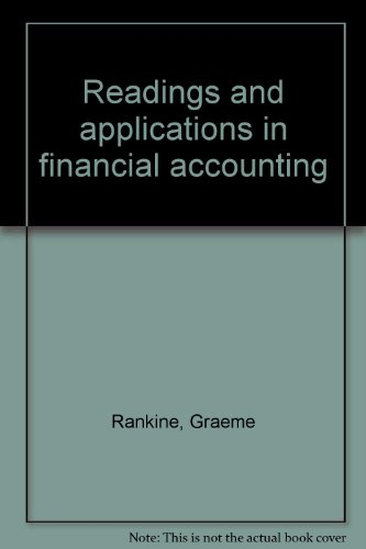 9780137618675: Readings and applications in financial accounting